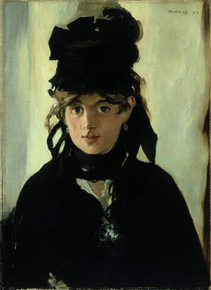 Manet: Berthe Morisot with a Bouquet of Violets, 1872