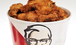 A bucket of KFC: hopefully doesn't contain 'brains'.