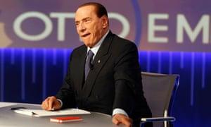 Silvio Berlusconi La7 television