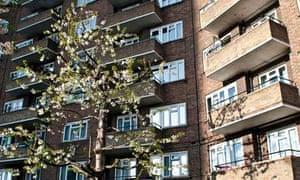Housing estate Westminster