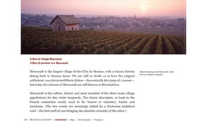 Inside Burgundy iPad ebook