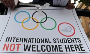London Met international students protest