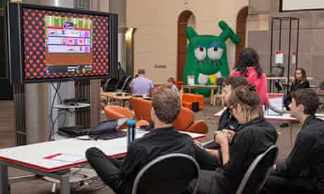 Playing games at Freeplay 2013
