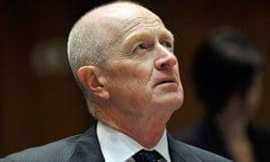 Reserve bank governor Glenn Stevens