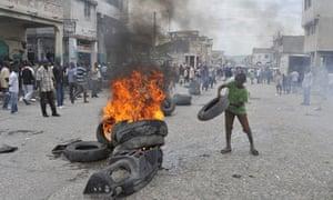 Port-au-Prince protest