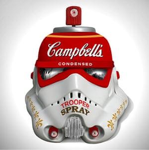 Art wars: Helmet by Mr Brainwash