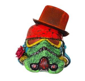 Art wars: Helmet by David Bailey