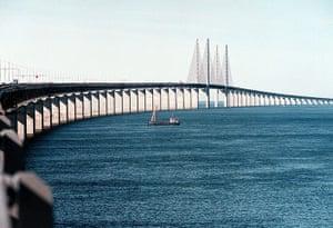 readers' 10 best bridges: Oresund bridge