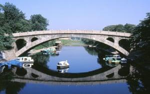 readers' 10 best bridges: Zhaozhou bridge