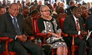 Uhuru Kenyatta nd William Ruto