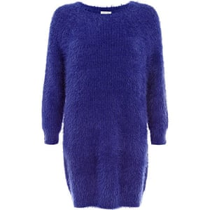 Fluffy Jumpers: Purple - River Island