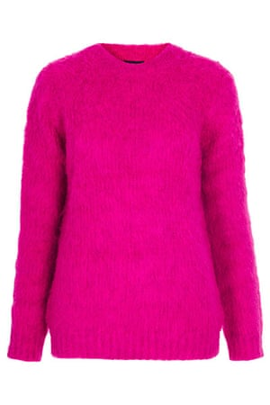 Fluffy Jumpers: Pink - Topshop