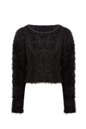 fluffy jumpers 3: Black Asos