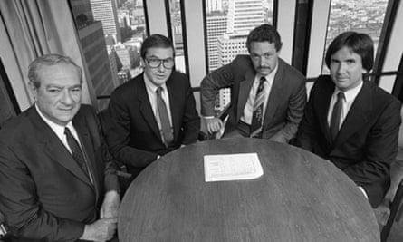 Men boardroom