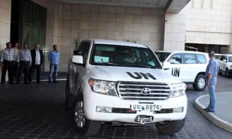OPCW inspectors arrive in Damascus