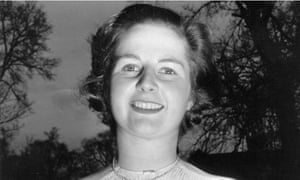 Young Margaret Thatcher
