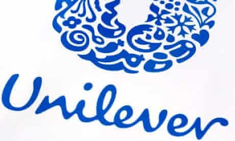 Unilever's sales growth is running at 3-3.5%.