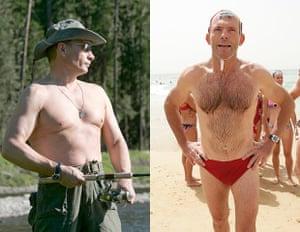 Vladamir Putin and Tony Abbott.