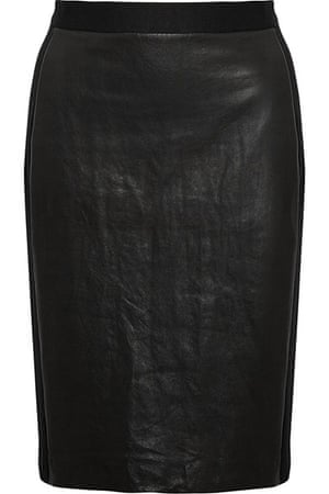 key trends leather skirts: key trends leather