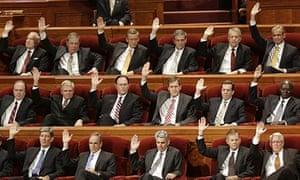 Members of the Mormon Seventy