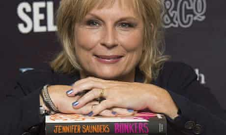 Jennifer Saunders at a signing for her autobiography, Bonkers: My Life in Laughs