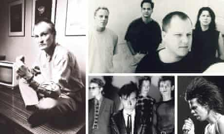 Clockwise from left: Ivo Watts-Russell; Pixies; Nick Cave; Bauhaus