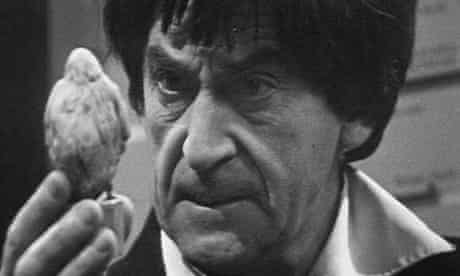 Patrick Troughton as the Doctor in Doctor Who: the Web of Fear