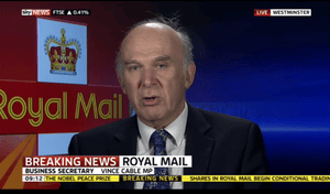 Vince Cable on Sky News, October 2013