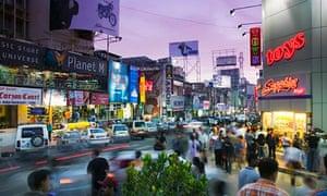 Bangalore Brigade Road