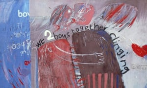 The David Hockney painting We Two Boys Together Clinging