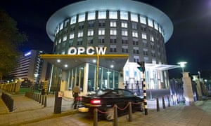 The OPCW's headquarters in The Hague
