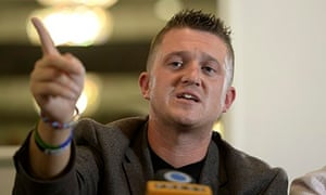 Tommy Robinson quits English Defence League