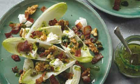 Hugh Fearnley-Whittingstall's chicory, ricotta, bacon and walnut salad