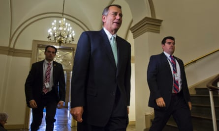 John Boehner enters the Capitol building.