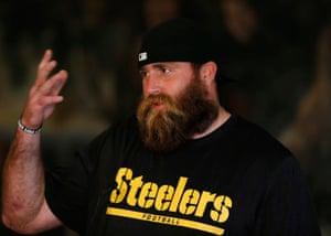Pittsburgh Steelers' defensive end Brett Keisel