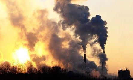 Climate change emissions