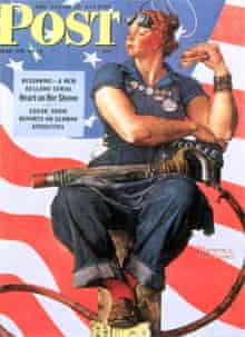 Rosie the Riveter, Post cover, 1943