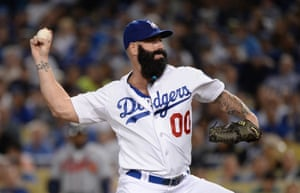 Brian Wilson of the Los Angeles Dodgers