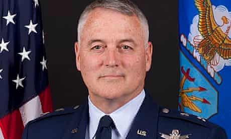 major general michael carey fired by us air force