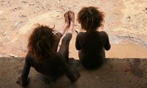 Indigenous children Alice Springs