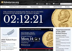 Countdown to Nobel economics prize announcement