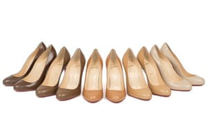 Louboutin's colour-match nude shoes for non-white women.