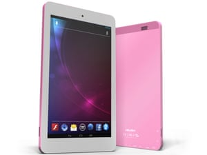 The Argos MyTablet is a budget 7in own-brand Android tablet that's available in silver or pink.