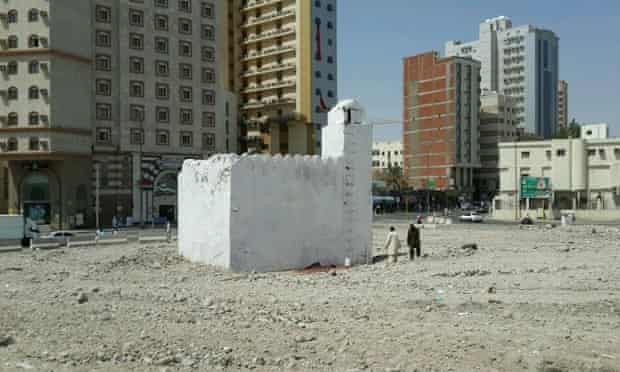 The Bir e Tuwa well, a holy site associated with the prophet Muhammad, is now facing demolition.