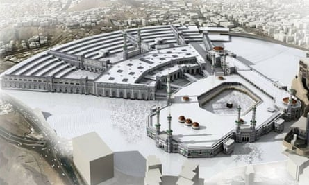 The £13 billion mosque expansion project will more than double the capacity to 1.2m worshippers.