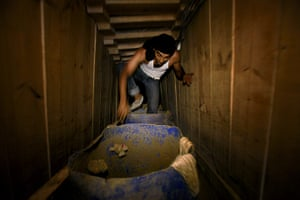 Gaza tunnels: Since early September, with most tunnels closed, only a few tunnel workers
