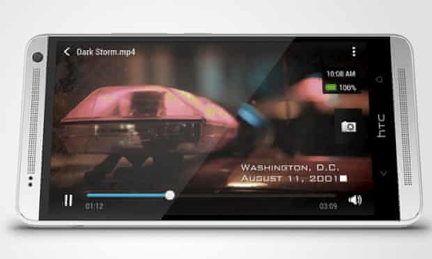HTC One Max phablet.