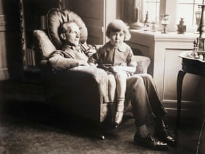 Christopher Robin and AA Milne - a picture from the past