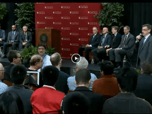 Press conference with Eugene Fama and Lars Peter Hansen