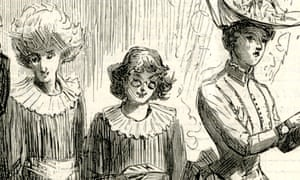 Caricature of women attending a 19th-century meeting of the British Association for the Advancement of Science